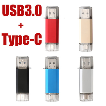 Pen drive USB Flash Drive 32GB 64GB, 128GB OTG C Tipa USB 3.0 un 3.0 atmiņas usb flash stick 16 32 64 128 256 gb pendrive